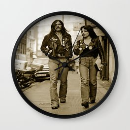 Lemmy and Joan Wall Clock