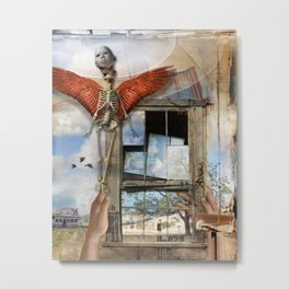 Post Mortem Metal Print