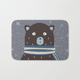 Amused Bear Bath Mat