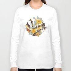 Chipmunk & Morning Glory Long Sleeve T-shirt