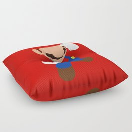 The world famous plumber (Mario) Floor Pillow