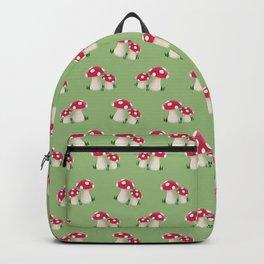 red mushrooms Backpack