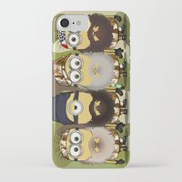 minions iPhone & iPod Cases featuring Minions Mashup Duck Dinasty by Akyanyme