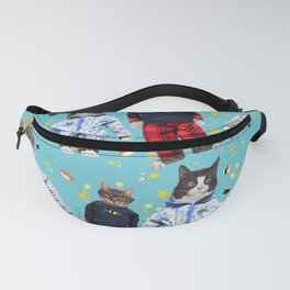 Cat Naps & Sushi Dreams by Crow Creek Coolture Fanny Pack