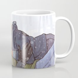 Winter Smooches Coffee Mug