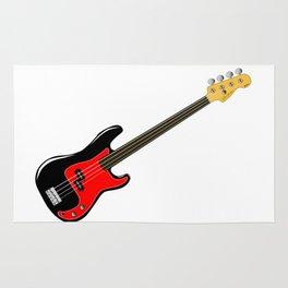 Fretless Bass Guitar Rug