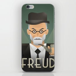 Freud Psychoanalyse Meister iPhone Skin