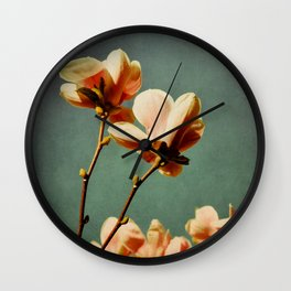 when there was spring Wall Clock