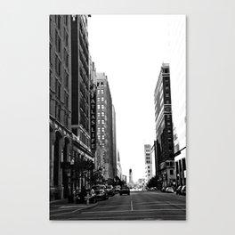 Downtown Tulsa  Canvas Print