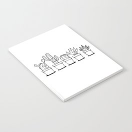 The Succulents Notebook