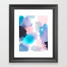 Changeling Abstract Watercolor  Framed Art Print