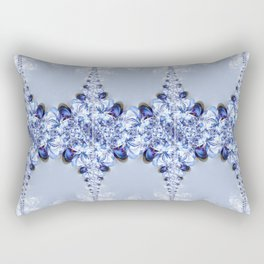 Pattern lightblue Rectangular Pillow