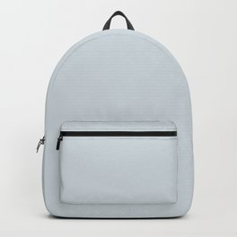 Solid pale ice gray for mix & match in our ice gray / white collection Backpack