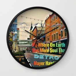 Journey of the Soul Wall Clock