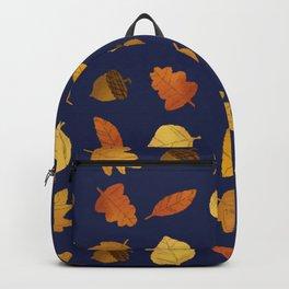 Leaf Lovers in Navy Backpack