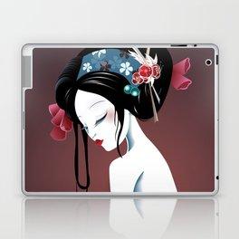 Geisha la blanche Laptop & iPad Skin