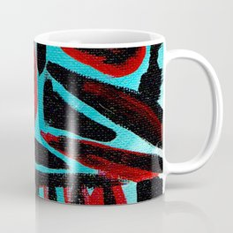 Kal - Abstract expressionism portrait Coffee Mug