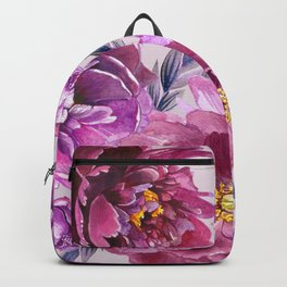 Purple Blossoms Backpack