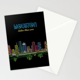 Houston Better Than Ever Circuit Stationery Cards