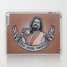The Dude Abides Laptop & iPad Skin
