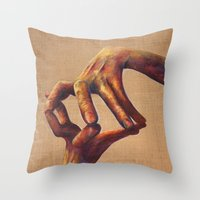 architecture Throw Pillows featuring Architecture by Peter Dannenbaum