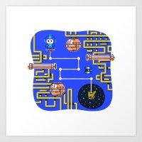 Overworld: Crash Art Print
