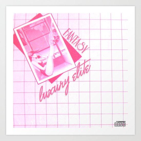"Fantasy -""Luxury Elite"" Album Poster Art Print"