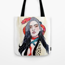 Goddess of Temptation Tote Bag