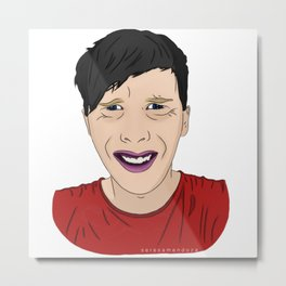 Ugly Phil Lester Metal Print