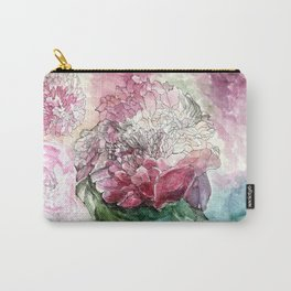 Rosy Unfinished Carry-All Pouch