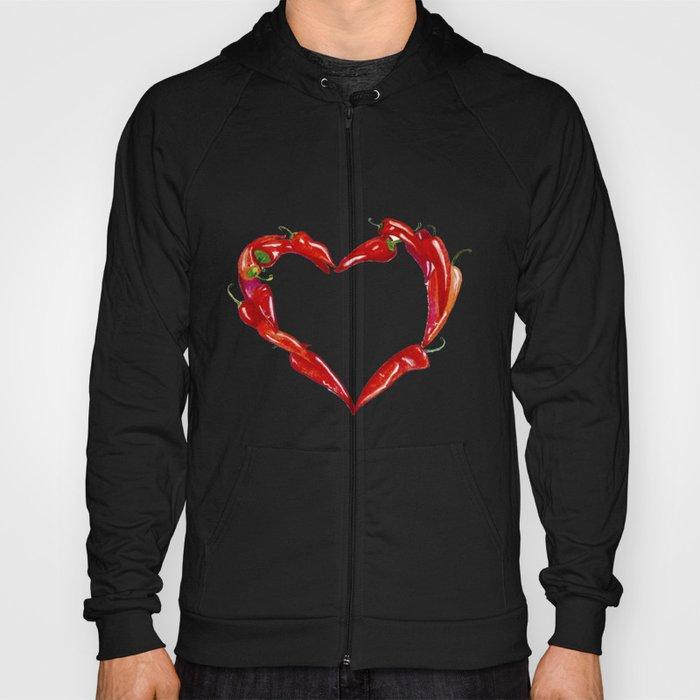Peppers heart Hoody
