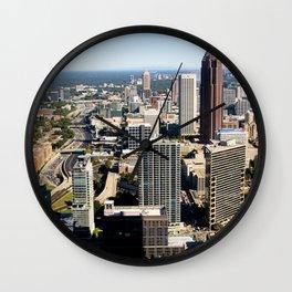 Downtown Atlanta, GA Wall Clock