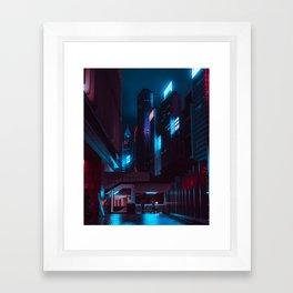 Hong Kong - The Future is Now Framed Art Print