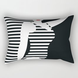 Modern Pin Up Rectangular Pillow