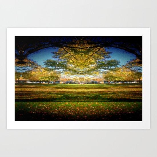 Autumn Down-Under Art Print