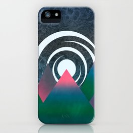 Midnight In the Mountains iPhone Case