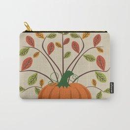 Fall Pumpkin Carry-All Pouch