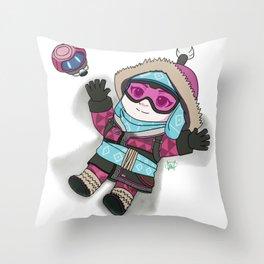 Mei-be an Angel Throw Pillow