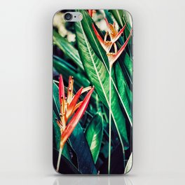 Hawaiian Flowers iPhone Skin