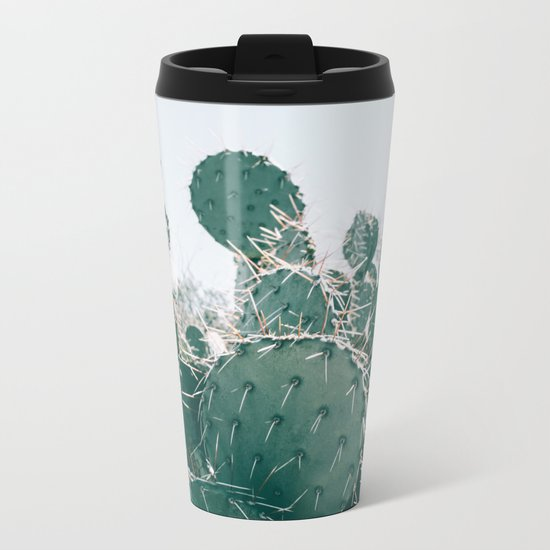 Arizona Cactus II Metal Travel Mug