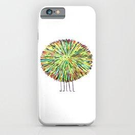 Poofy Splotch iPhone Case