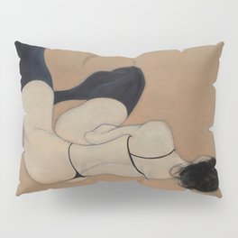No Couture Needed (oil on canvas) Pillow Sham