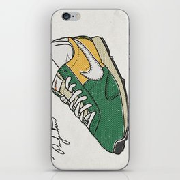 Steve Prefontaine Bleed Quote - Nike iPhone Skin