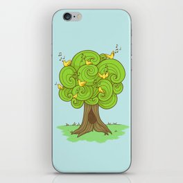 The Music Tree iPhone Skin