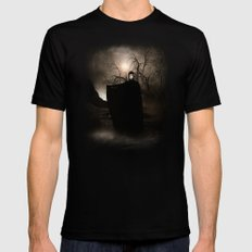The Seventh Seal SMALL Black Mens Fitted Tee