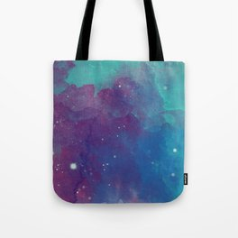 Watercolor night sky Tote Bag
