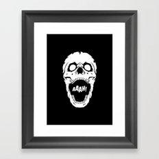 Say AAAH! Framed Art Print