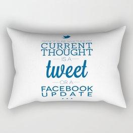 Social Media Rectangular Pillow