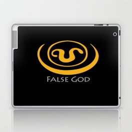 False God. Inspired by Stargate SG1 - The symbol of Apophis as worn by Teal'c Laptop & iPad Skin