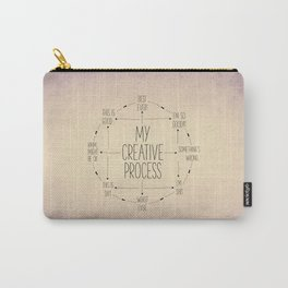 My Creative Process Carry-All Pouch